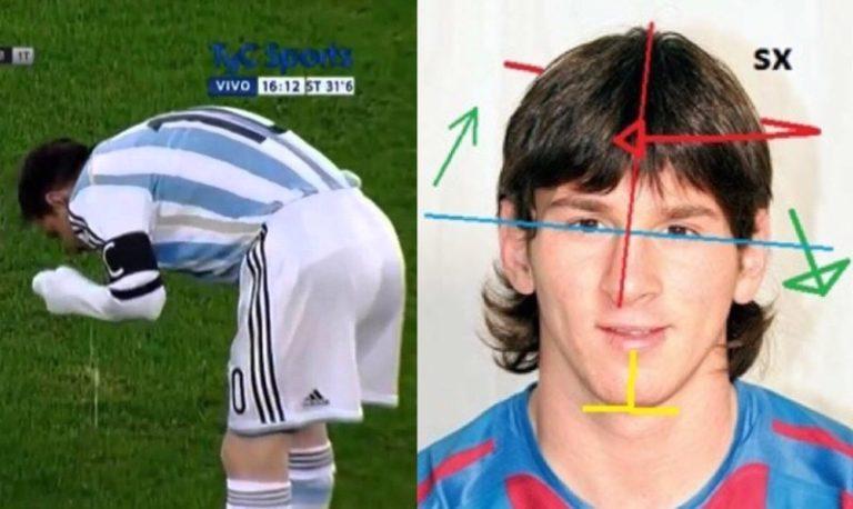 Messi, vomit